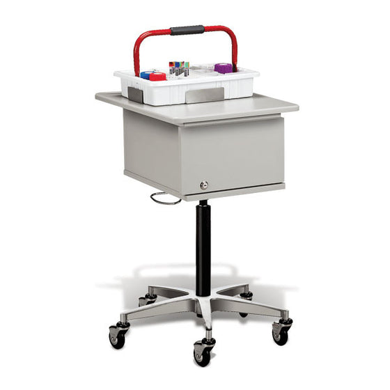 Clinton Phlebotomy Cart - Two-Tray
