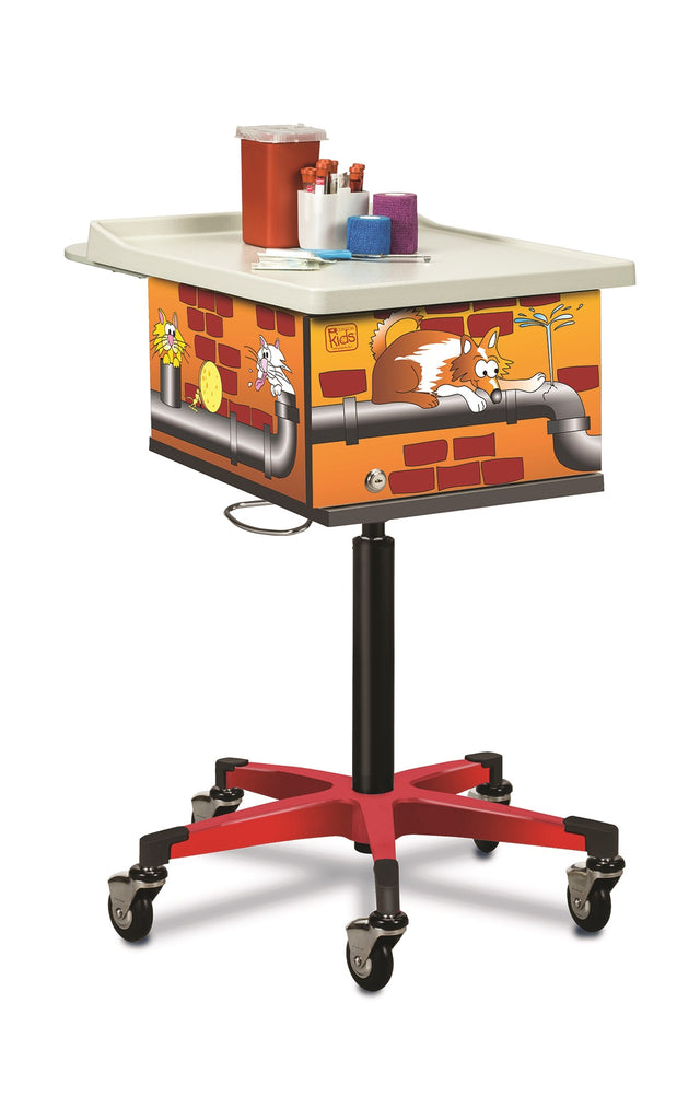 Clinton Pediatric Phlebotomy Draw Carts