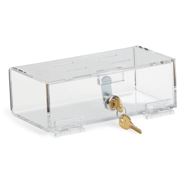 "Medication Lock Boxes with Keys - Small - 8.325""W x 4.5""D x 2.875""H"