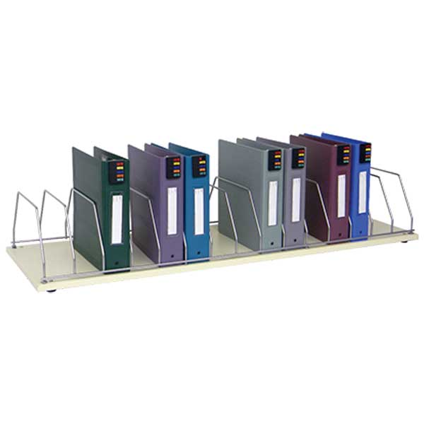 16-Place File Countertop Rack