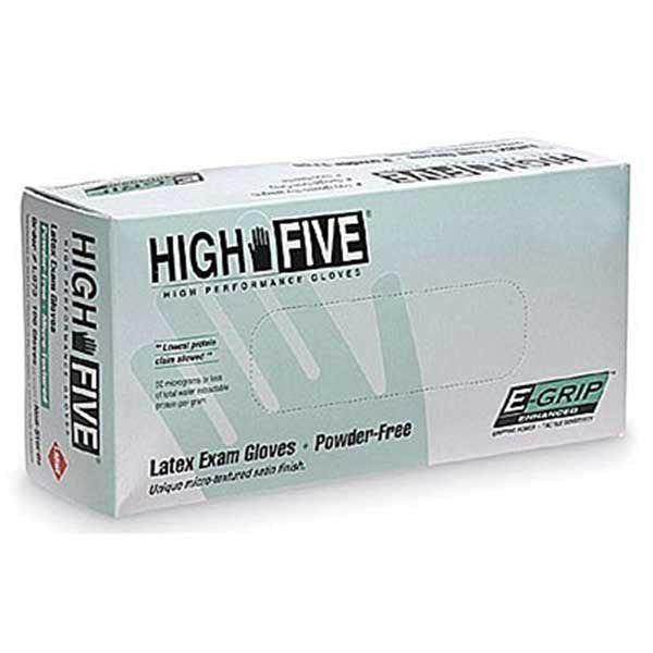 Powder Free Nitrile Medical Gloves - Large