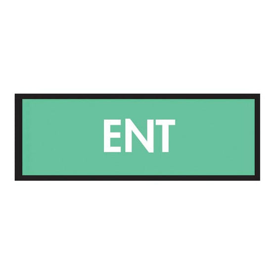 Specialty Code Instrument Marking Sheet Tape - ENT