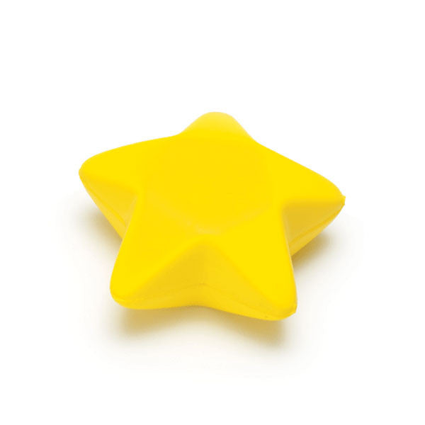 "Phlebotomy Hand Grips - Yellow Star - 3.25""L x 3""W x 1.25""H"