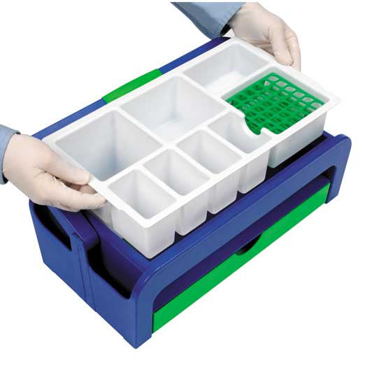 Droplet™ Blood Collection Tray - Full Kit with 16mm Tube Rack