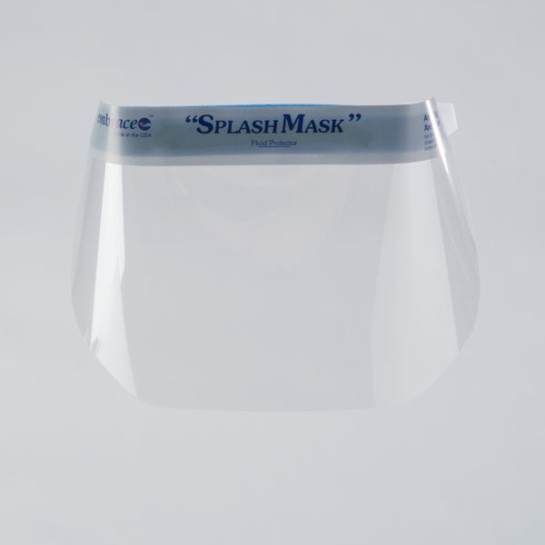 Disposable Full Face Shield with Velcro Strap