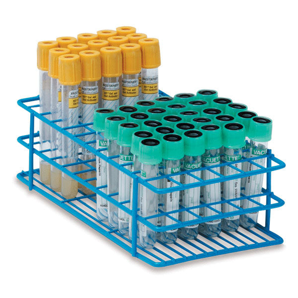 13mm Tube Rack for 3mL, 5mL, and 7mL Test Tubes - Small