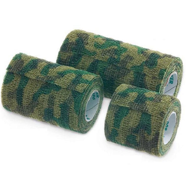 "CoFlex Self-Adherent Cohesive Camo Bandages • 2""W • 36PK"