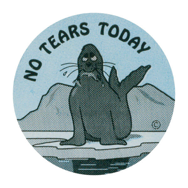 No Tears Today Pediatric Stickers