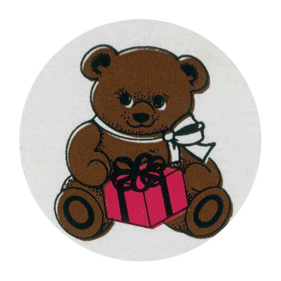 Teddy Bear Pediatric Stickers