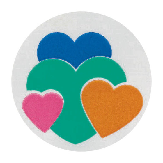 Hearts Pediatric Stickers