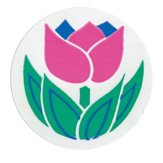 Flower Pediatric Stickers