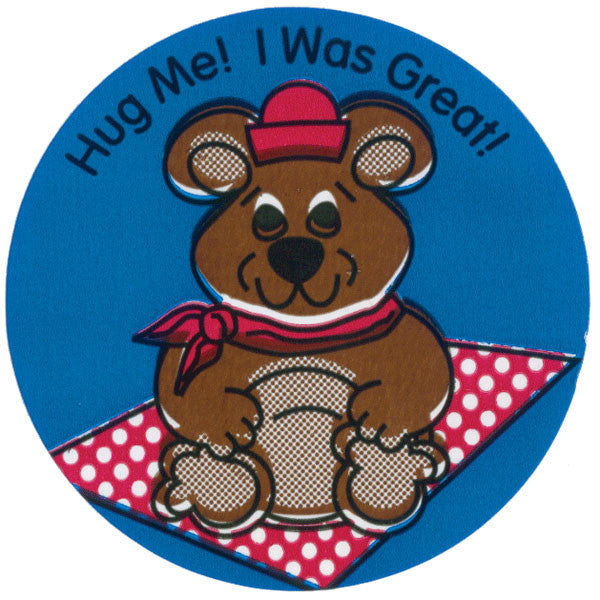 Hug Me! I Was Great! Pediatric Stickers