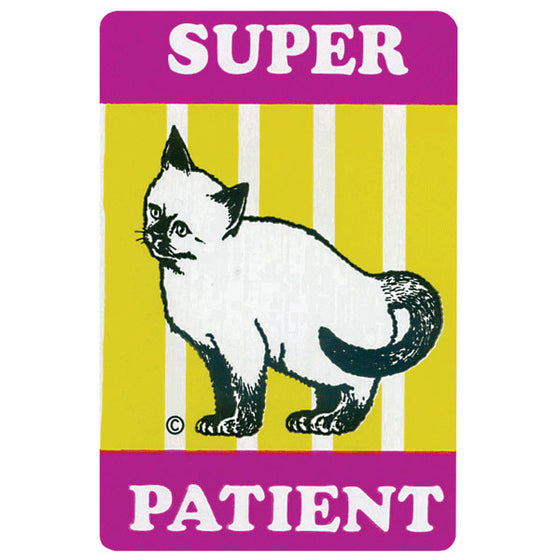 Super Patient Pediatric Stickers