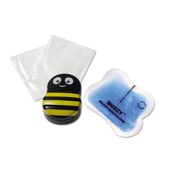 "Buzzy for Needle Pain Relief - Buzzy Starter Set - 3.25""L x 2.25""W x 1.25""H"