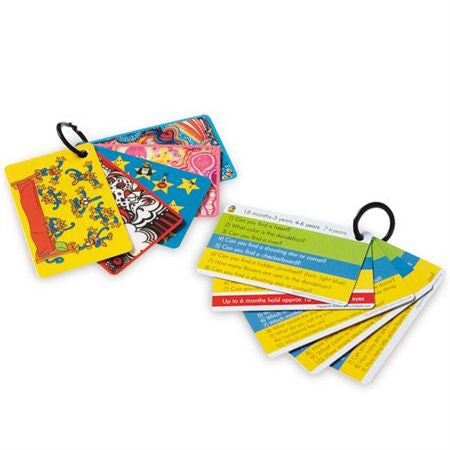 "DistrACTION Cards - 5 packs of 5 cards - English  - 2"" x 3.5"""