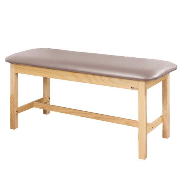 Flat Top Classic Series Straight Line Treatment Exam Table - Cream