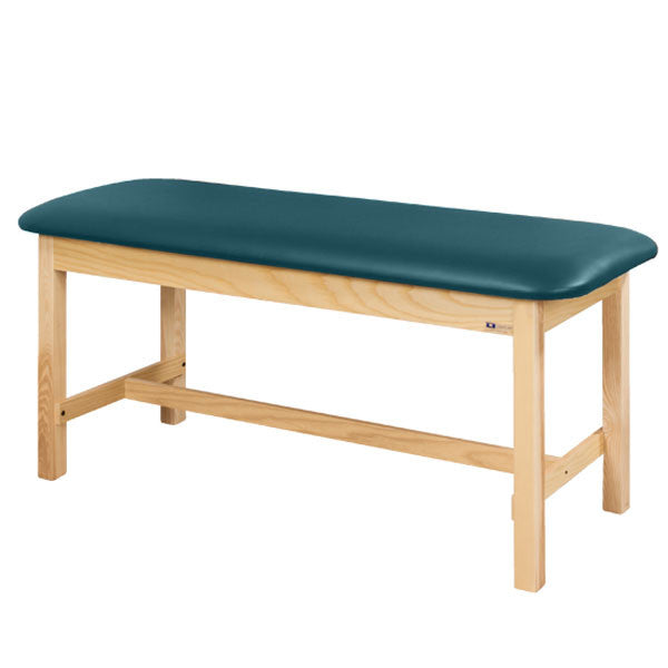 Flat Top Classic Series Straight Line Treatment Exam Table - Slate Blue