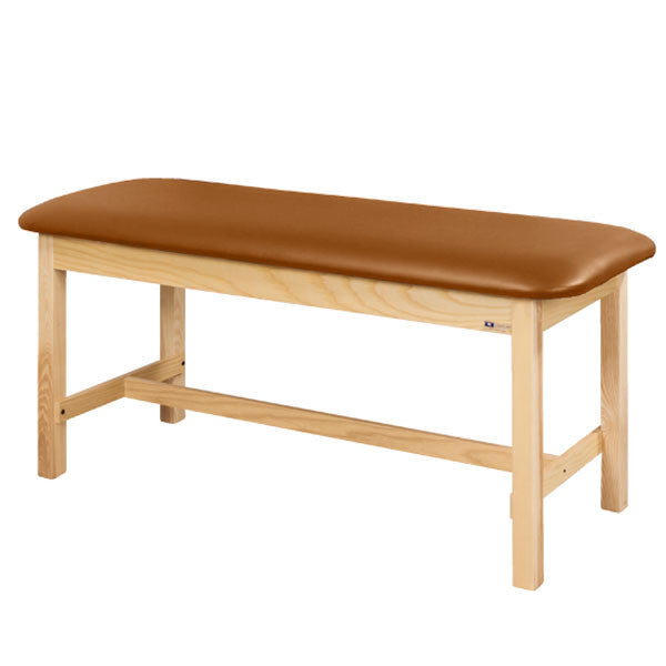Flat Top Classic Series Straight Line Treatment Exam Table - Allspice