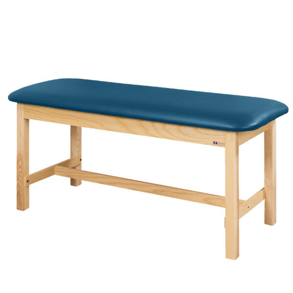 Flat Top Classic Series Straight Line Treatment Exam Table - Wedgewood