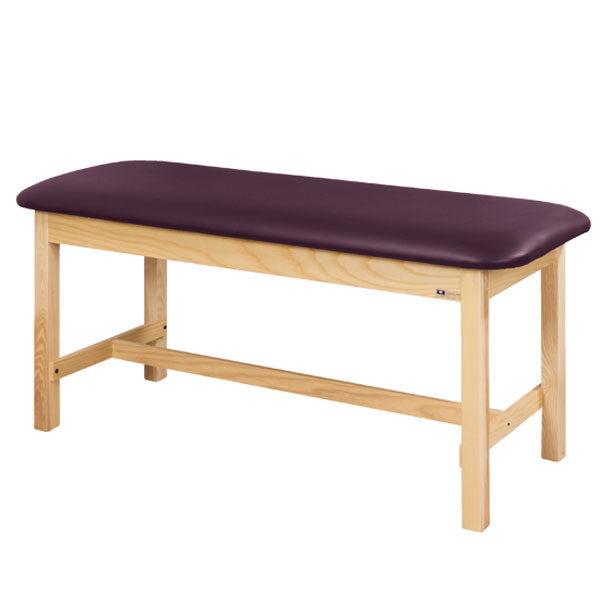 Flat Top Classic Series Straight Line Treatment Exam Table - Purplegray