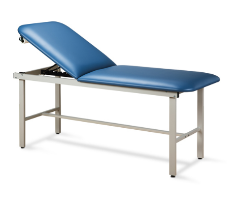 Adjustable Backrest Treatment Table with Steel Frame