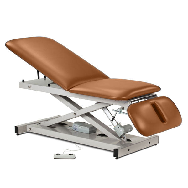 Treatment Exam Table Power Height Adjustable Backrest Drop Section - Allspice