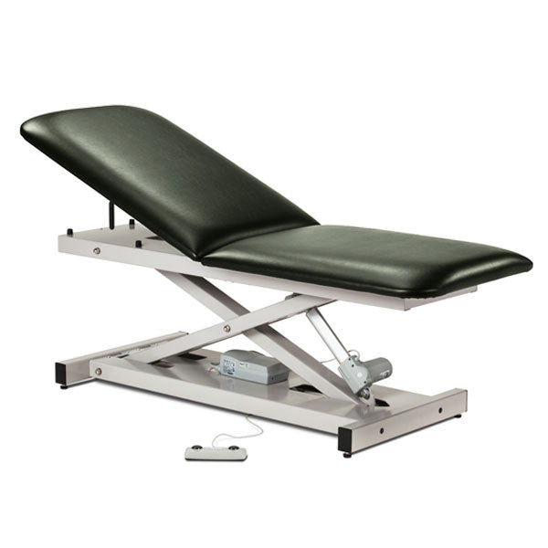 Treatment Exam Table Power Height Adjustable Backrest - Gunmetal