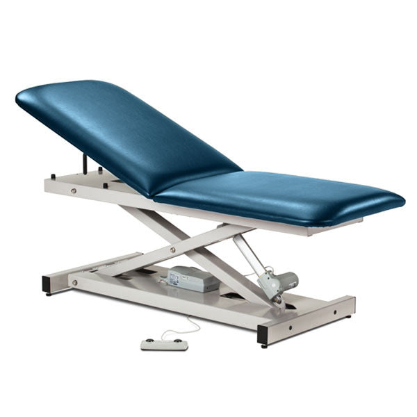 Treatment Exam Table Power Height Adjustable Backrest - Wedgewood