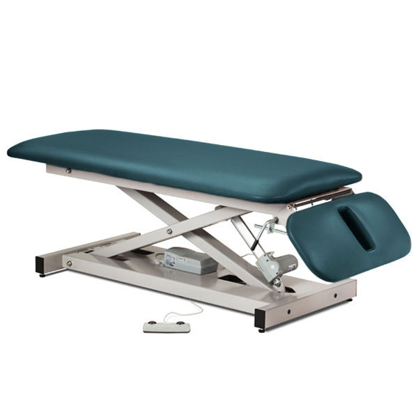 Treatment Exam Table Power Height Drop Section - Slate Blue