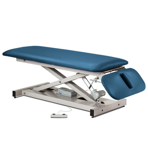 Treatment Exam Table Power Height Drop Section - Wedgewood