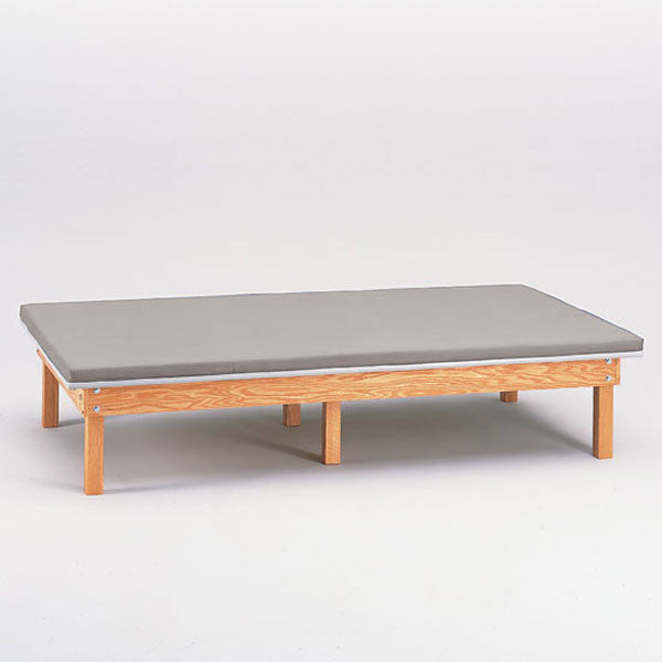 Heavy Duty Upholstered Mat Platform Treatment Table 4 x 7 Cream - Cream