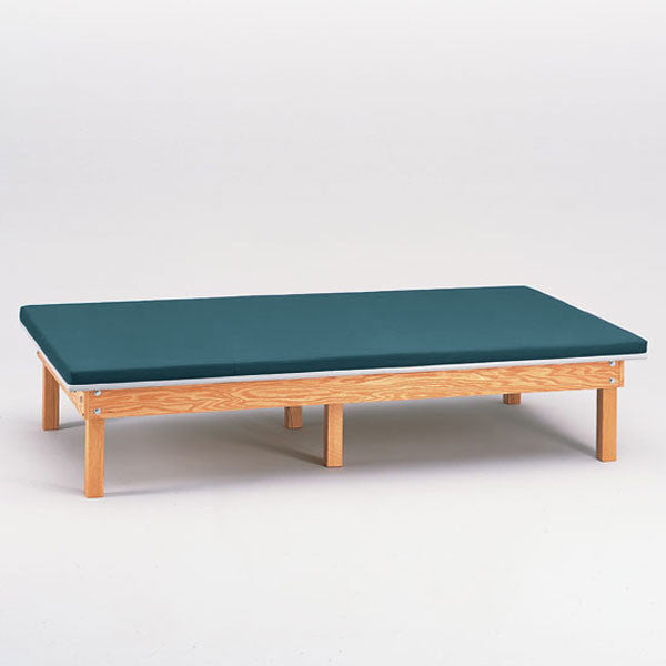 Heavy Duty Upholstered Mat Platform Treatment Table 4 x 7 Slate Blue - Slate Blue