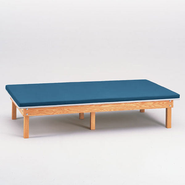 Heavy Duty Upholstered Mat Platform Treatment Table 4 x 7 Wedgewood - Wedgewood