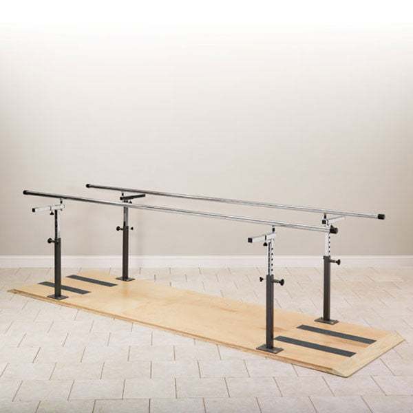 Physical Therapy Platform Mounted Parallel Bars - 12'