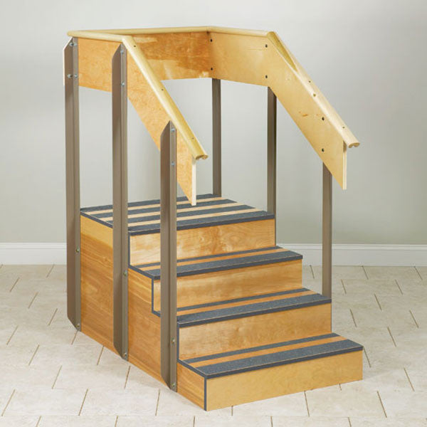 "One-Sided Physical Therapy Staircase - 30"" Width"