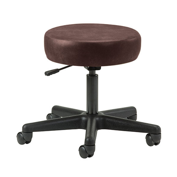 Key Series 5-Leg Pneumatic Stool - Burgundy