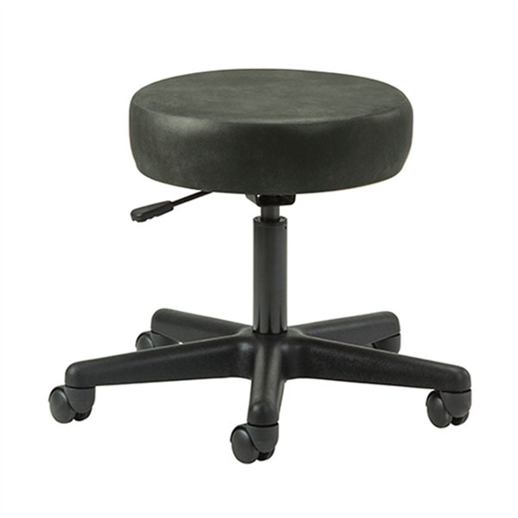Key Series 5-Leg Pneumatic Stool - Gunmetal