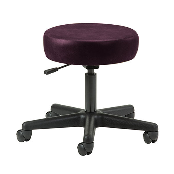 Key Series 5-Leg Pneumatic Stool - Purplegray