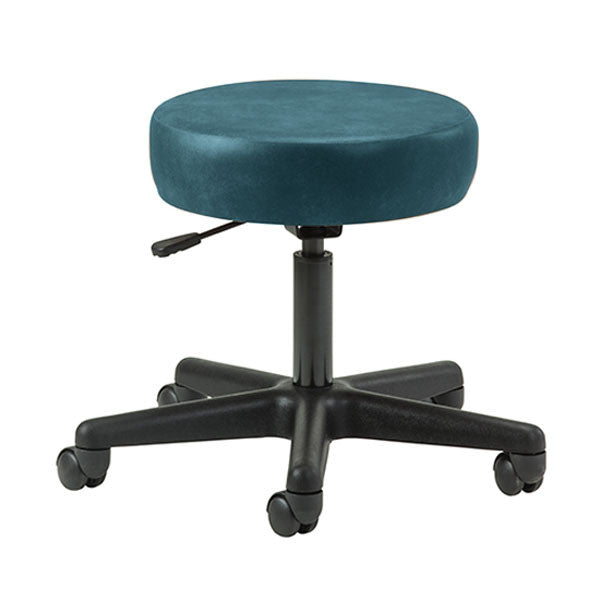 Key Series 5-Leg Pneumatic Stool - Slate Blue