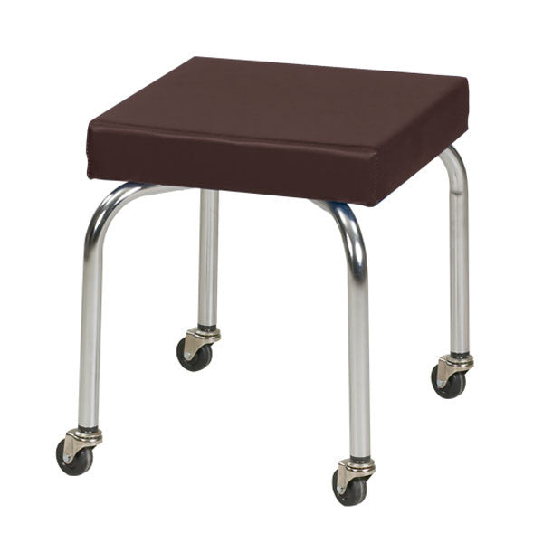 Physical Therapy Therapist Scooter Stool - Burgundy