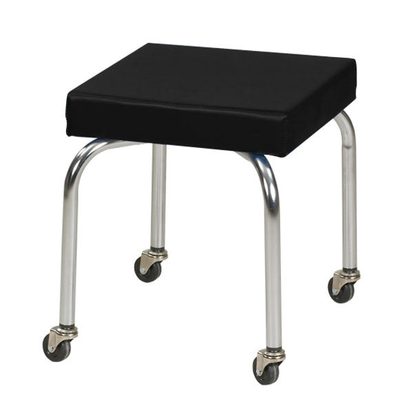 Physical Therapy Therapist Scooter Stool - Black