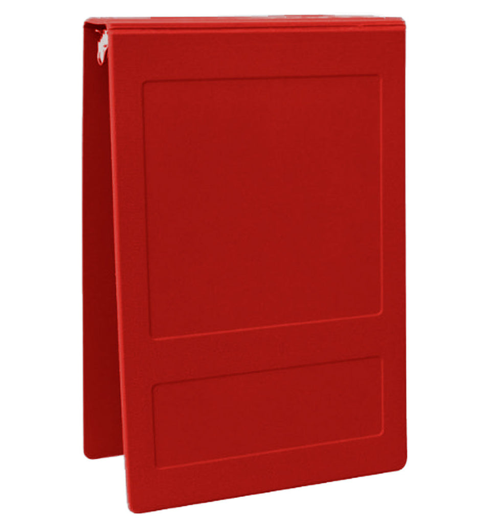 "2"" Top Open Molded Medical Ring Binder - Ruby"