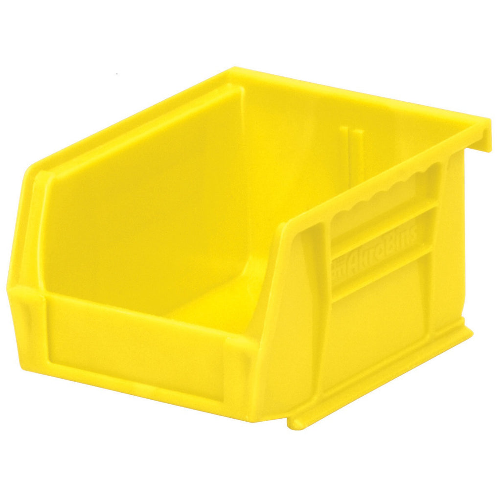 "Akro-Mils AkroBin Stack & Hang Bin 30210 - 5.38""L x 4.13""W x 3""H - Pack of 24"