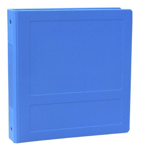 "1"" Side Open Molded Medical Ring Binder - Med Blue"