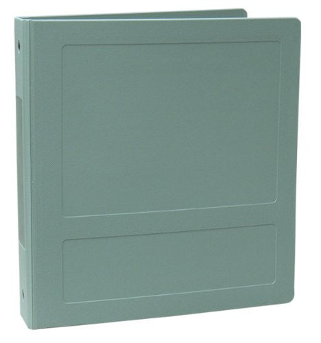 "1"" Side Open Molded Medical Ring Binder - Seafoam"