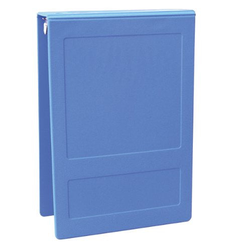 "1"" Top Open Molded Medical Ring Binder - Med Blue"