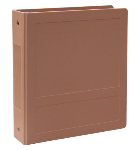 "2"" Side Open Molded Medical Ring Binder - Sienna"