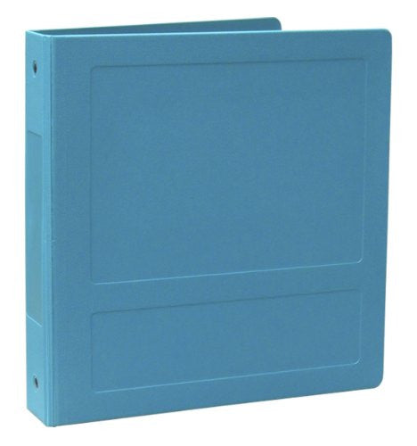 "1.5"" Side Open Molded Medical Ring Binder - Aqua"