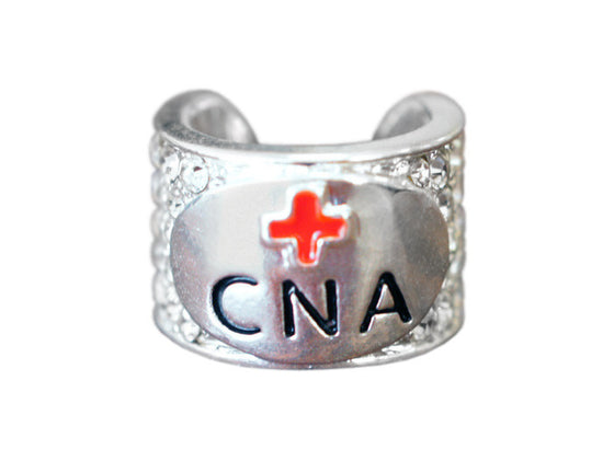 CharMED Crystal Stethoscope Charms - C.N.A