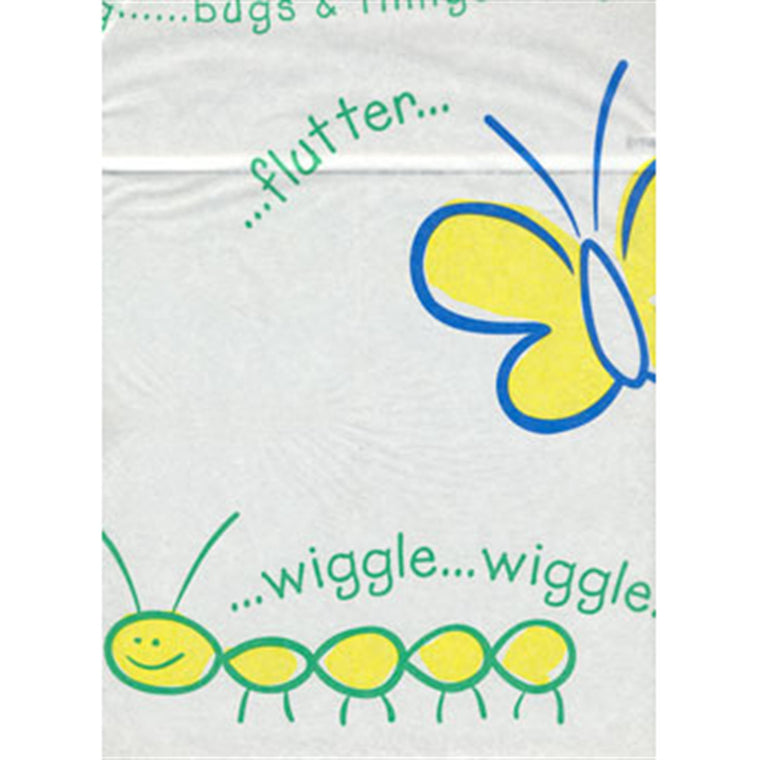 18 Inch Crepe Medical Exam Table Paper- Bugs and Things 6/PK -